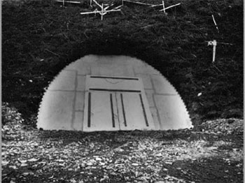 The tunnel was closed and sealed for the summer months during the years of construction.